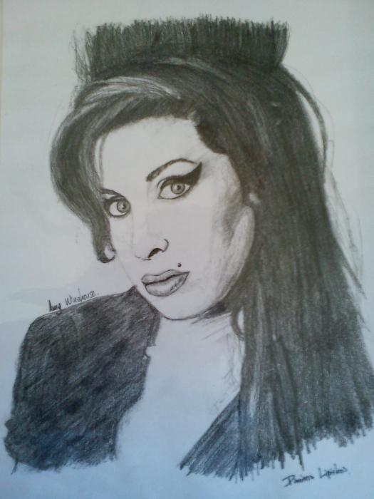 Amy Winehouse by Mitsos